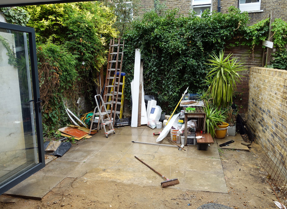 Cost management square garden design london for Garden design fees