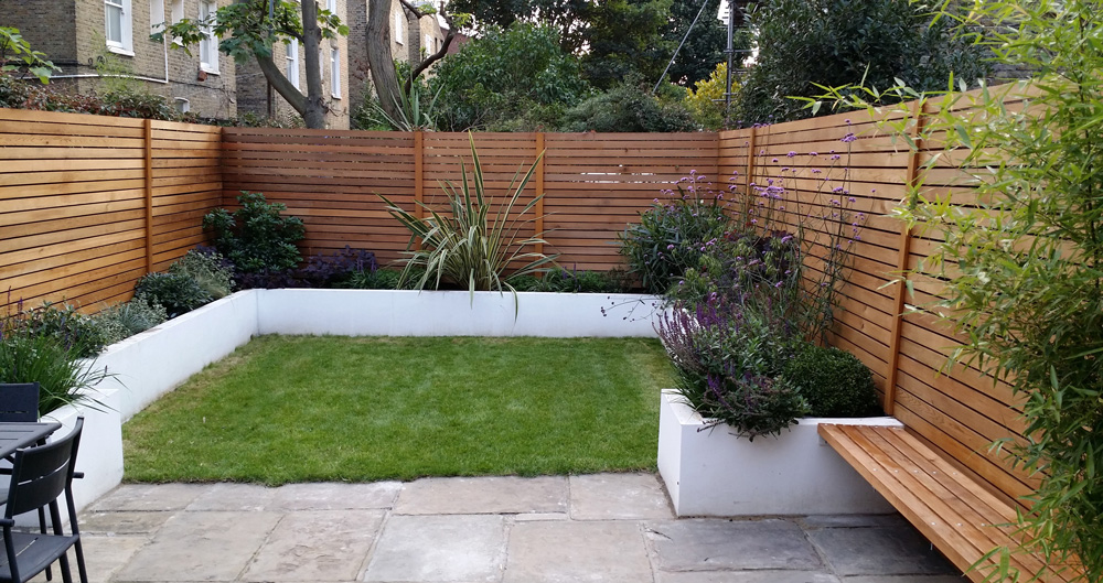 Square Garden Design Portfolio Fulham After