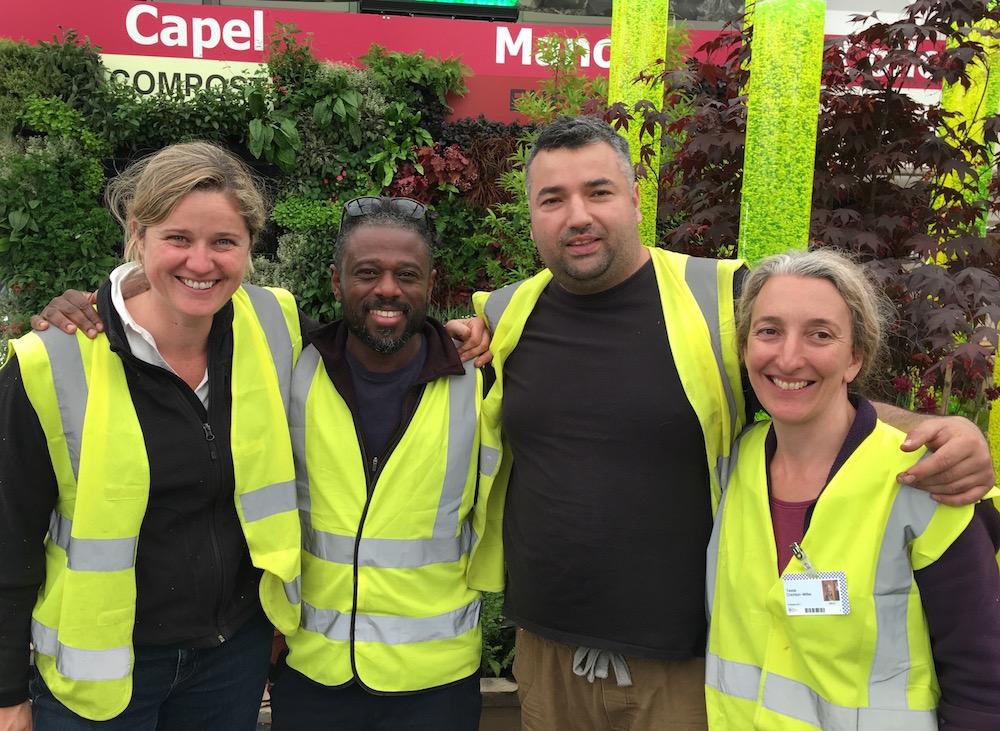 Planting team & designers